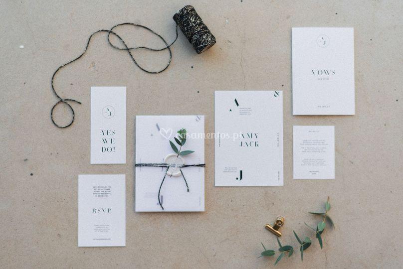 Casamento inspiração greenery