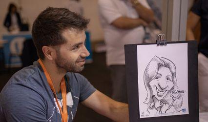 ArtB - Caricaturas e retratos