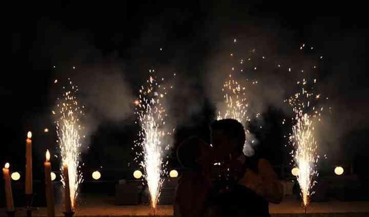 O beijo da felicidade!
