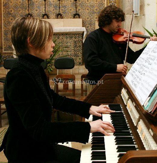 Música na igreja - MusiCasamentos