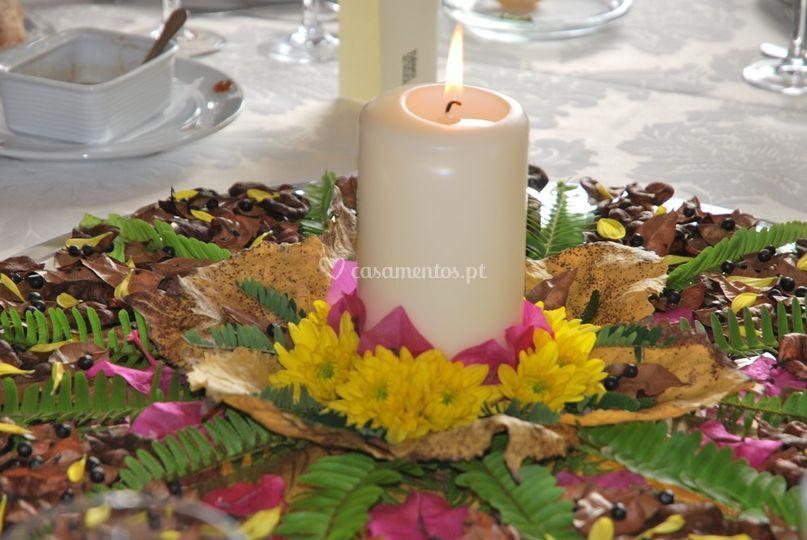 Mandala centro de mesa