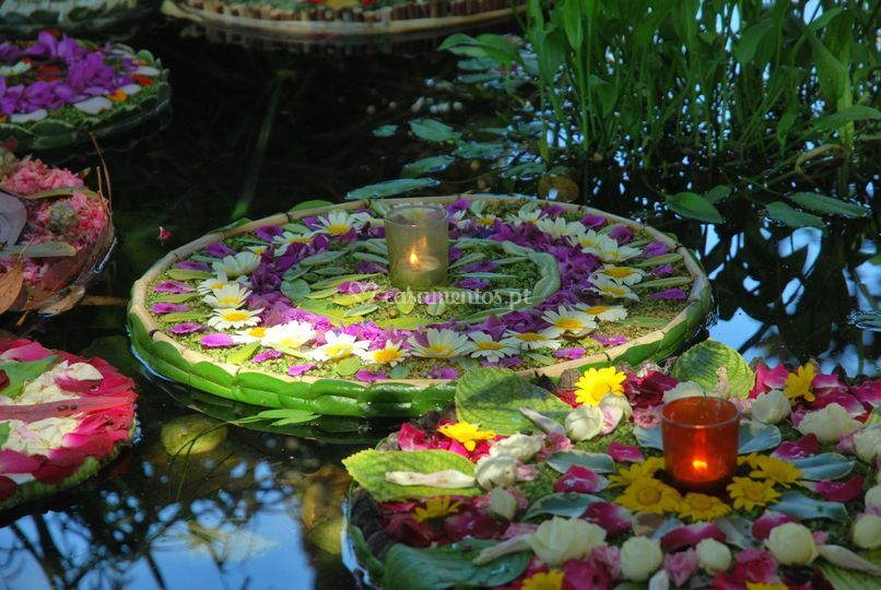Mandala flutuante