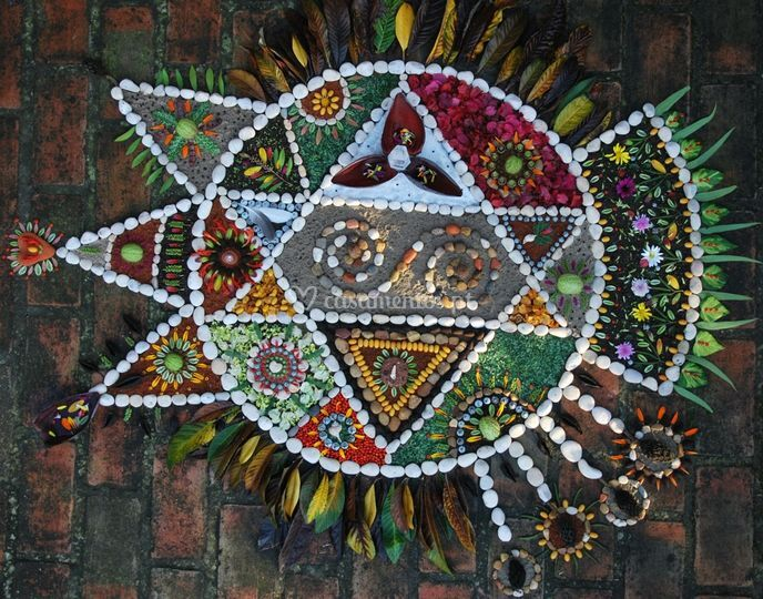 Mandala de chão