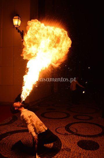 Cuspidor de fogo