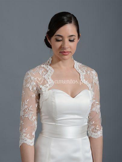 Casaco para noiva