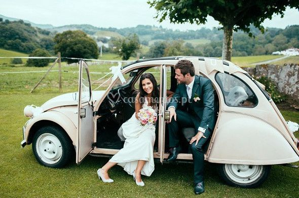 Carro para noivos