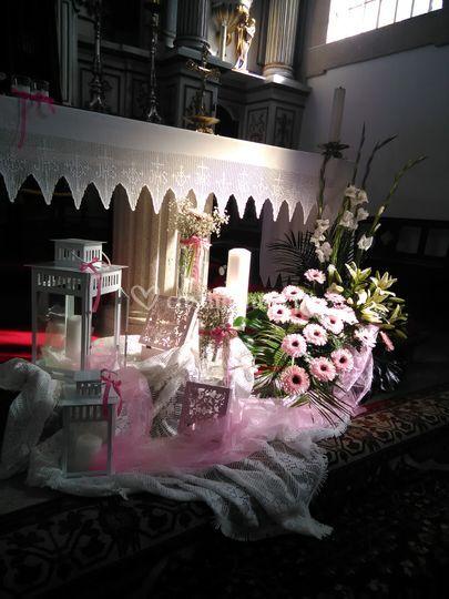 Altar batizado menina
