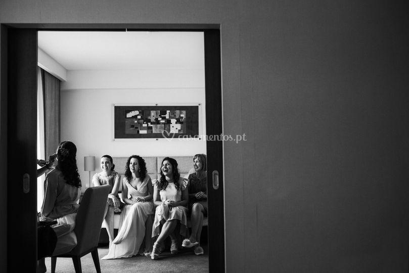 Wedding day - Inês