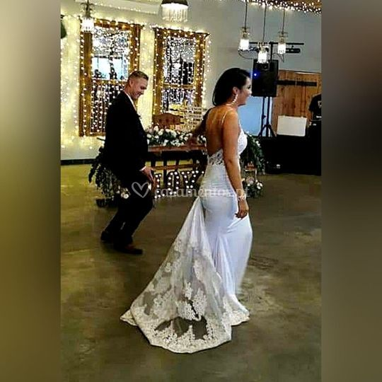 Vestido noiva sereia de renda