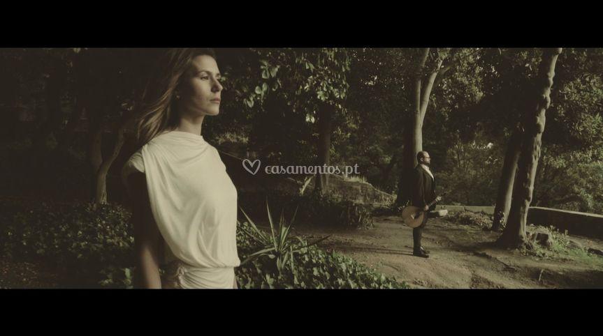 Video clip com noiva