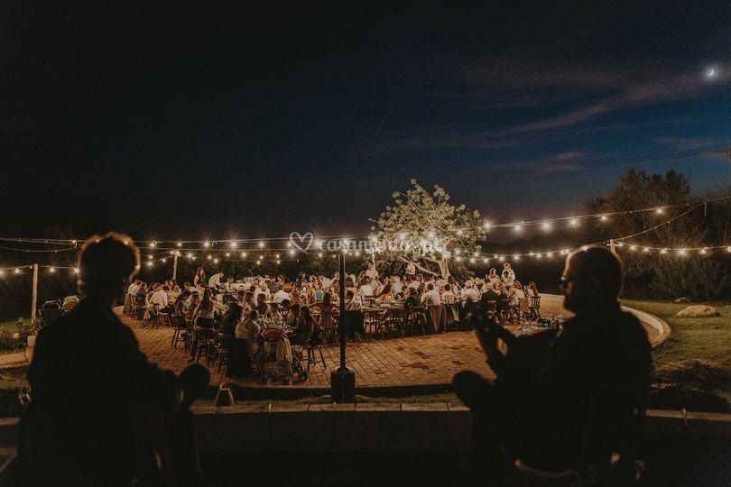Durante o casamento