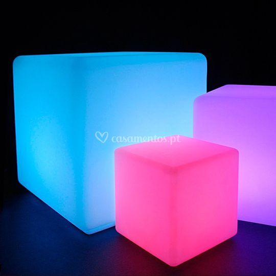Cubos LED