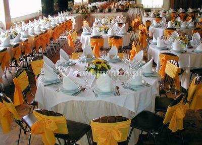 Banquetes para festas