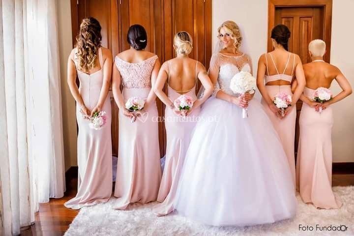 Ramo noiva e damas