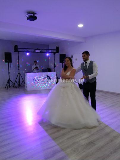 Ensaio dança dos noivos