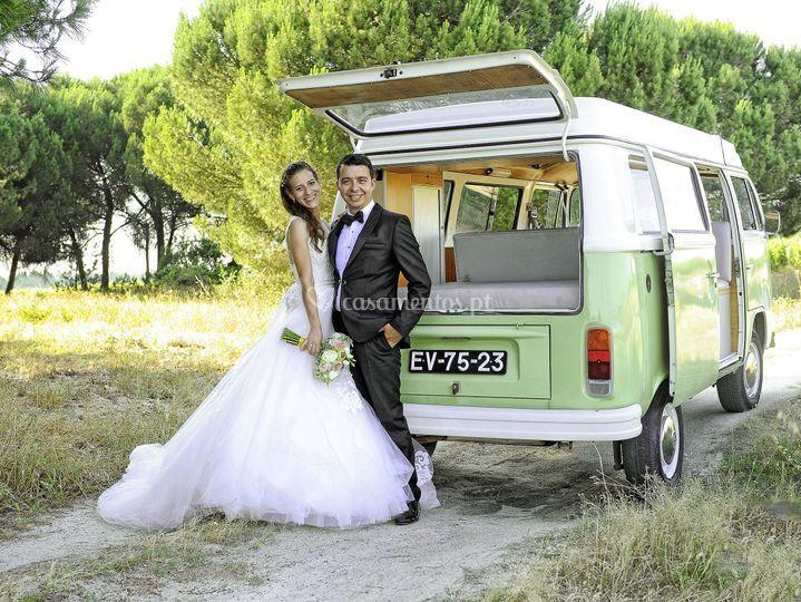 Os noivos - van