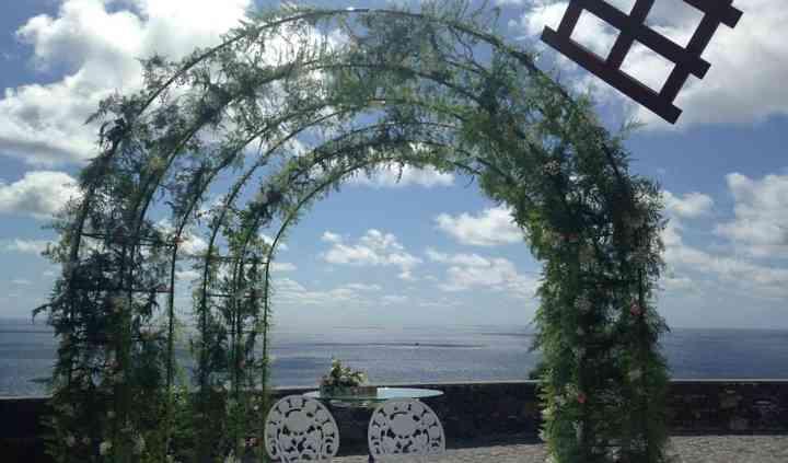 Arco para noivos