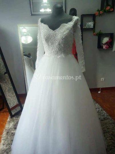 Exemplo de vestido