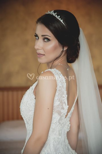 The bride Ana Nunes