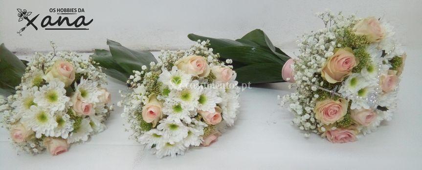 Ramo da noiva e ofertas