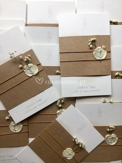 Convites de Casamento J&T