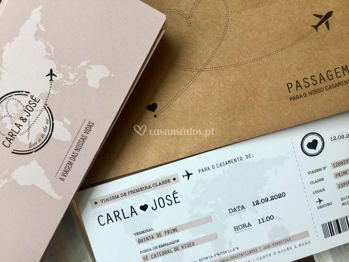 Convite | Carla&José