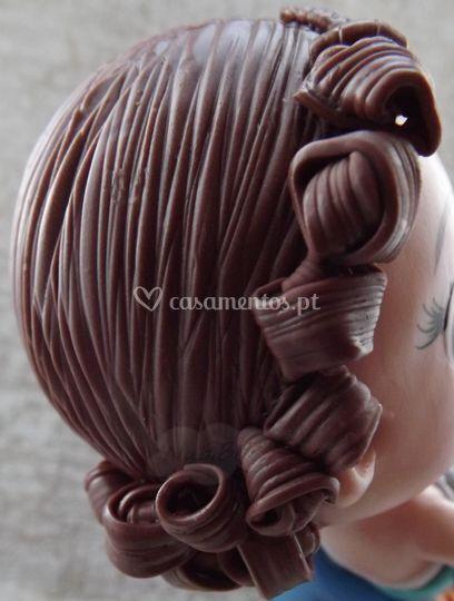 Detalhe do cabelo