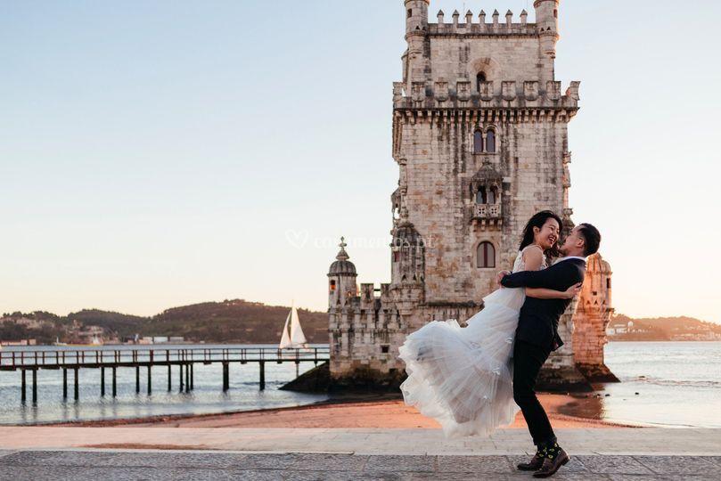 Sessão de namore em Lisboa