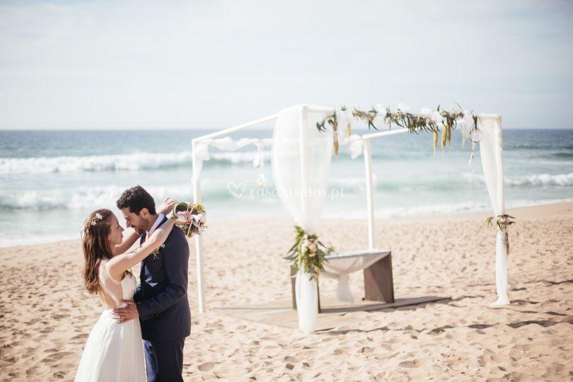 Casamento na Areia Branca