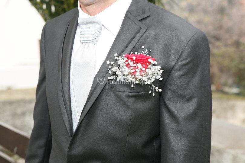 Rosa para noivo
