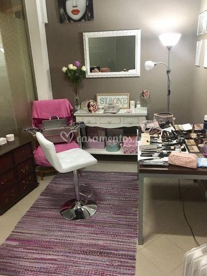 Atelier de maquilhagem