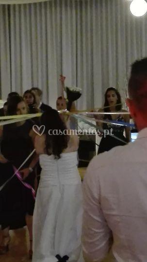 Coreografia do ramo da noiva