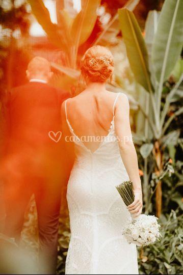 Casamento a dois na ilha da Ma