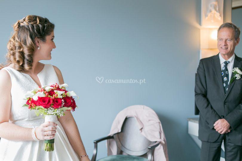 Casamento teresa e carlos