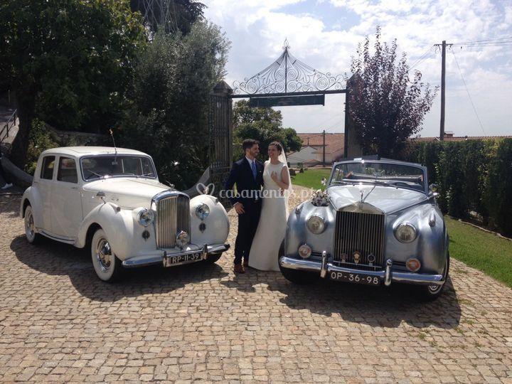 Bentley e RR Silver Cloud