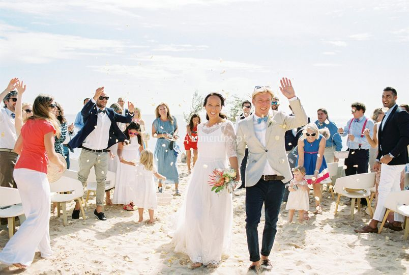 Surf wedding in algarve