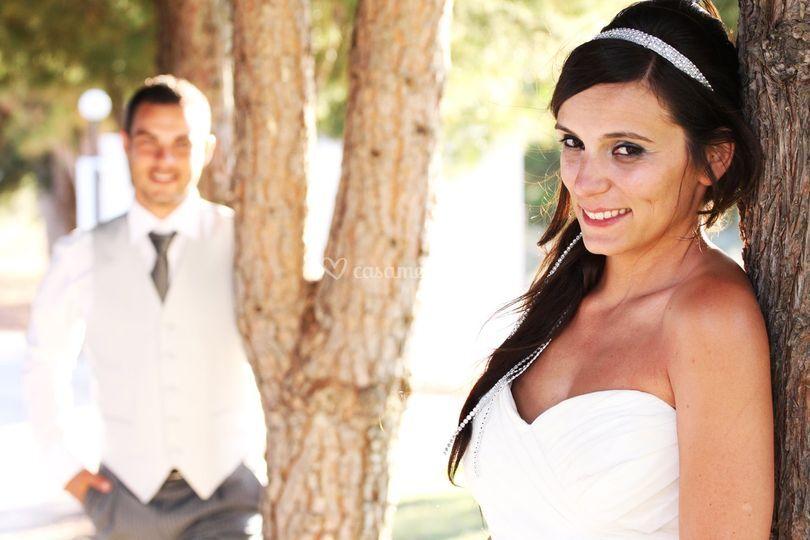 Estudio de Fotografia - A noiva