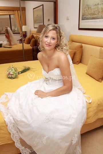 A noiva - Estudio de Fotografia©