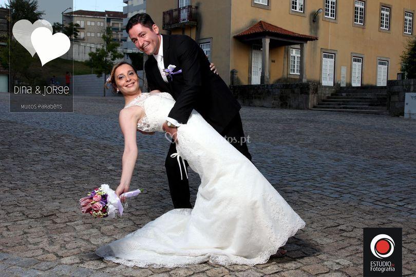 Jorge e Dina - Estudio de Foto