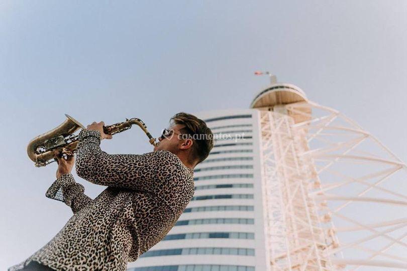 Ricardo branco saxofonista