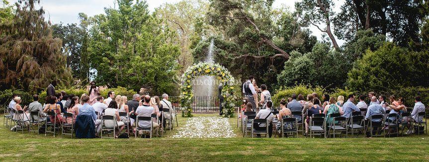 Celebração jardins