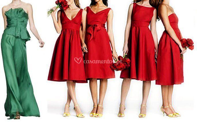 Vestido de damas de honor