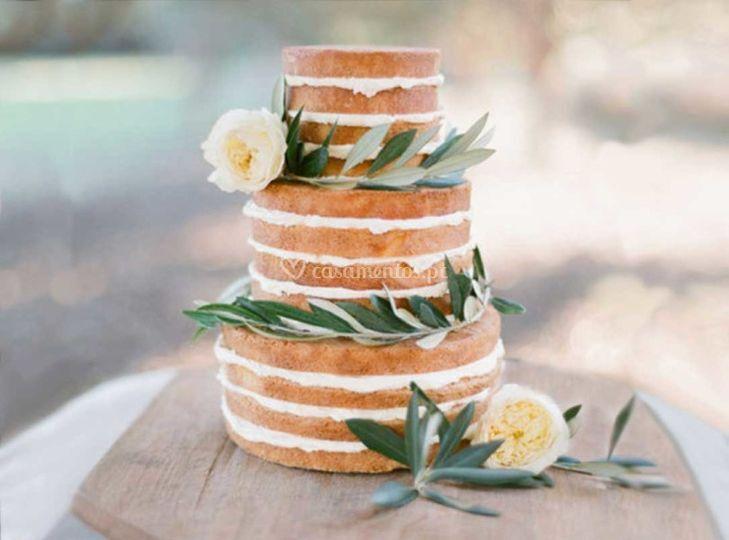 Decor bolo noiva