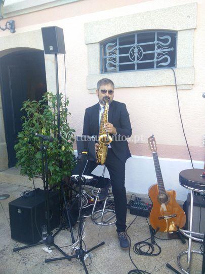 Aperitivo - saxofone
