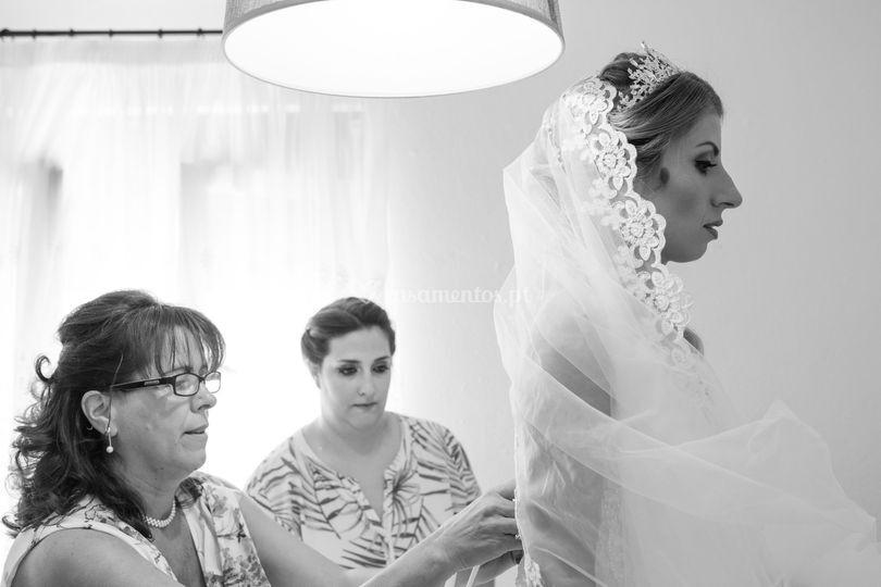 Casamento, o vestido