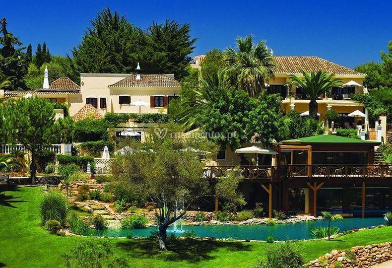 Vista geral de Hotel Rural Jules Verne