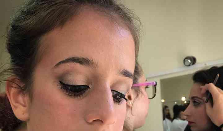 Ensaio de make up para noiva