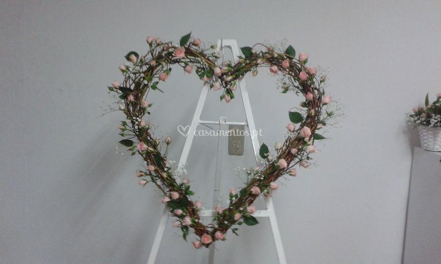 Coração para decoração
