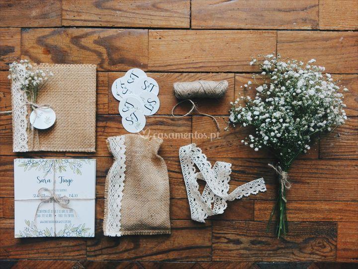Convite casamento s&t