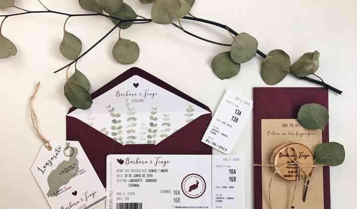 Convite Casamento B&T